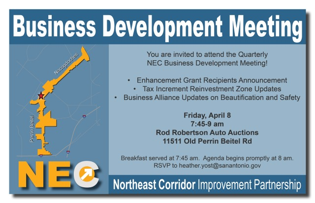 NEC Business Development Meeting
